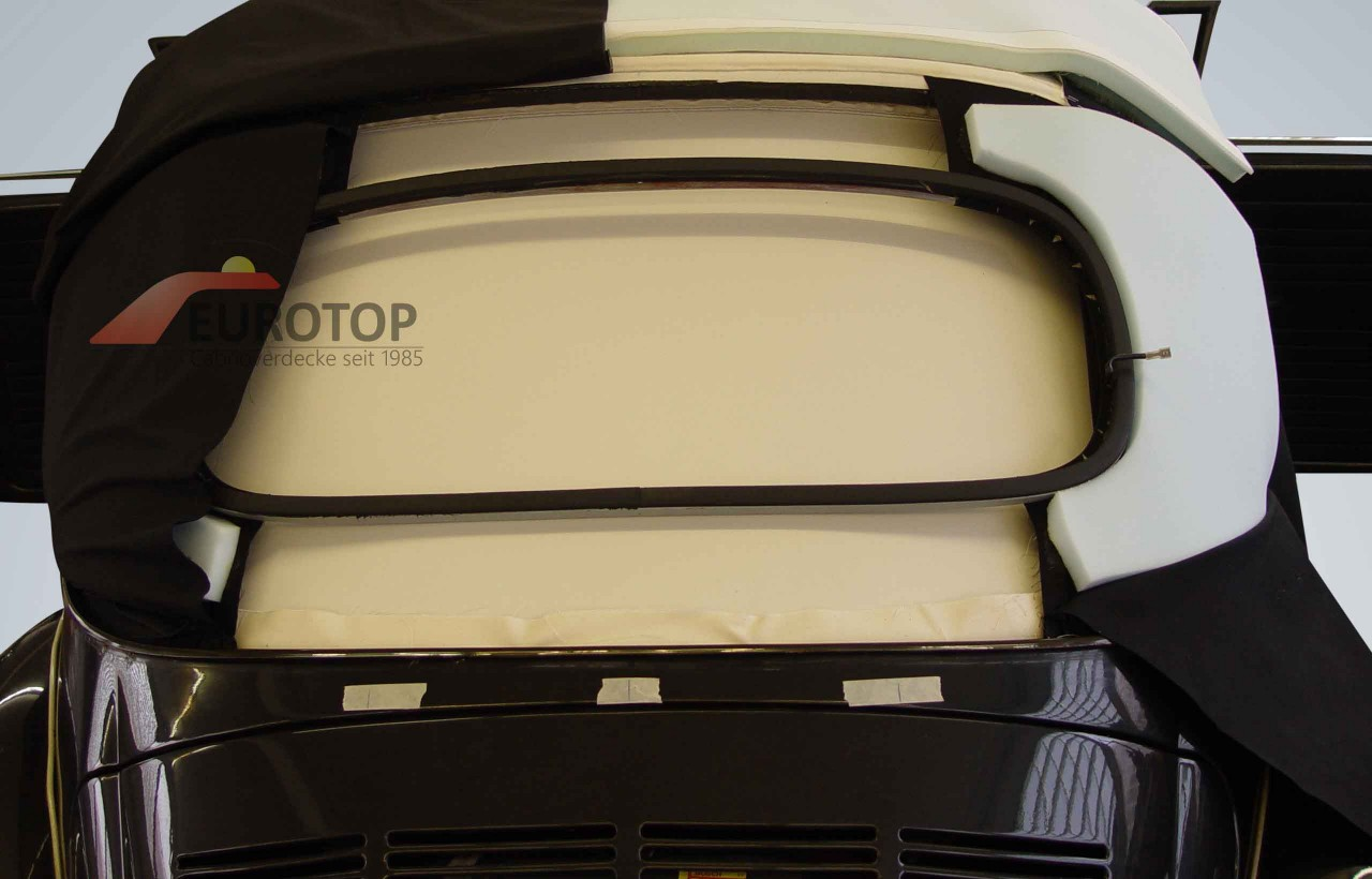 Isolatiemat incl. binnenweefsel voor VW Kever 1500, 1302, 1303 Cabrio bj. 63-79